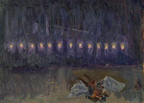 Die glückliche Hand de Arnold Schönberg (1910), Étude scénique pour la Main Heureuse