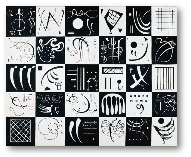 Wassily Kandinsky, « Trente », 81 x 100 cm, 1937